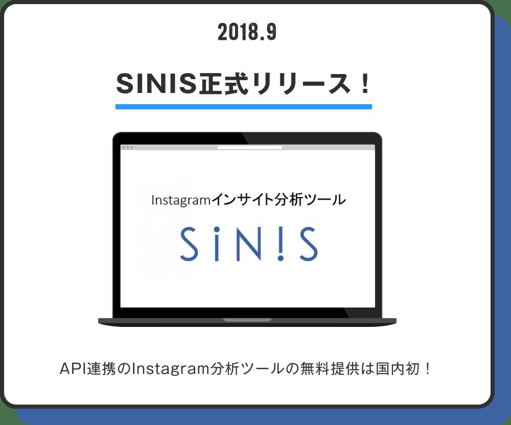 SINIS正式リリース